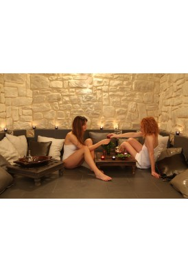 2 accès au Spa : hammam, sauna, piscine